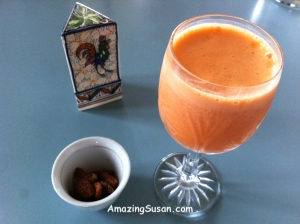 Tangy Carrot & Grapefruit Smoothie