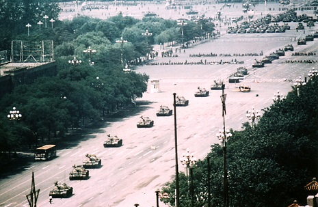 Tank man zoomed out